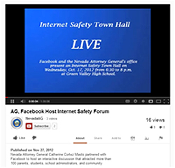 Internet Safety Town Hall Video 250